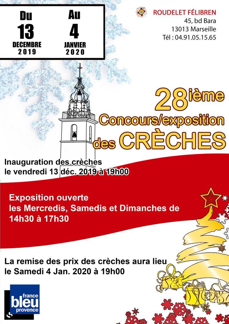 Exposition et concours de crèches au Roudelet Felibren