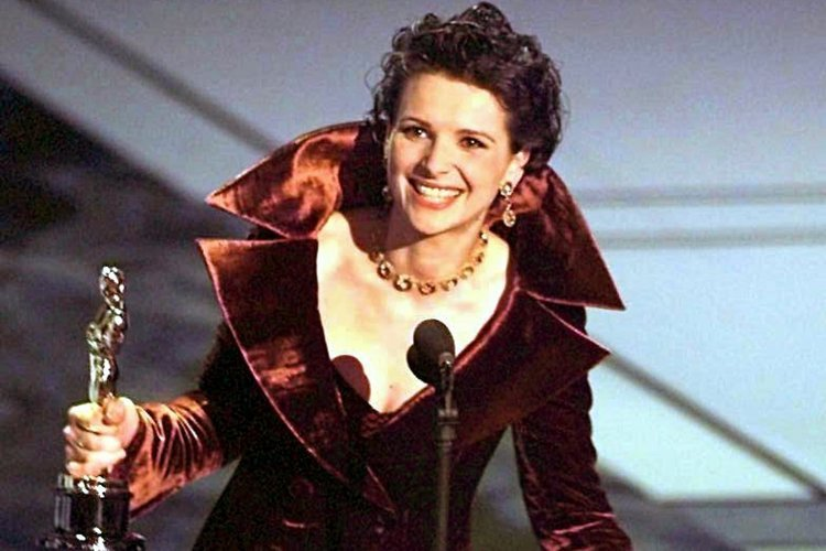 Image result for juliette binoche oscar win