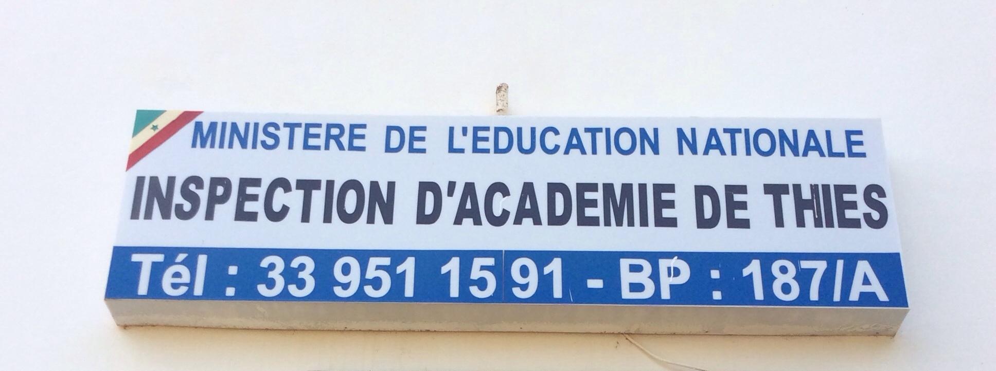 Inspection d'Académie de Thies
