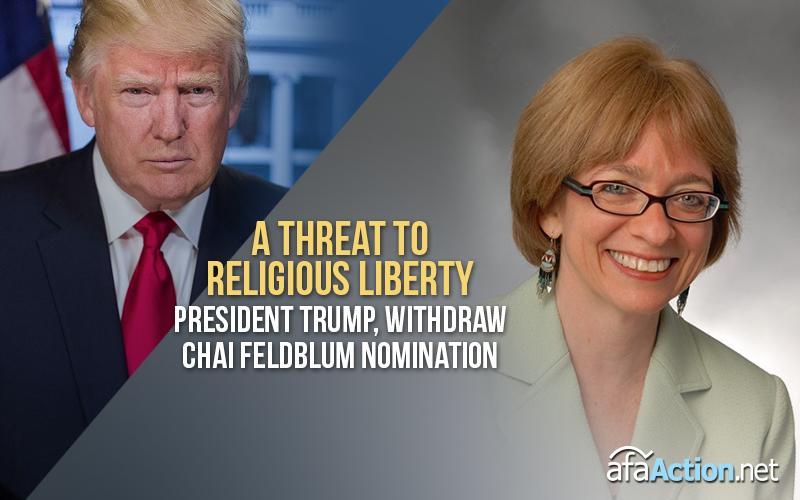 Urge President Trump to pull LGBT activist nomination