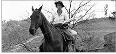 A packhorse librarian in Kentucky