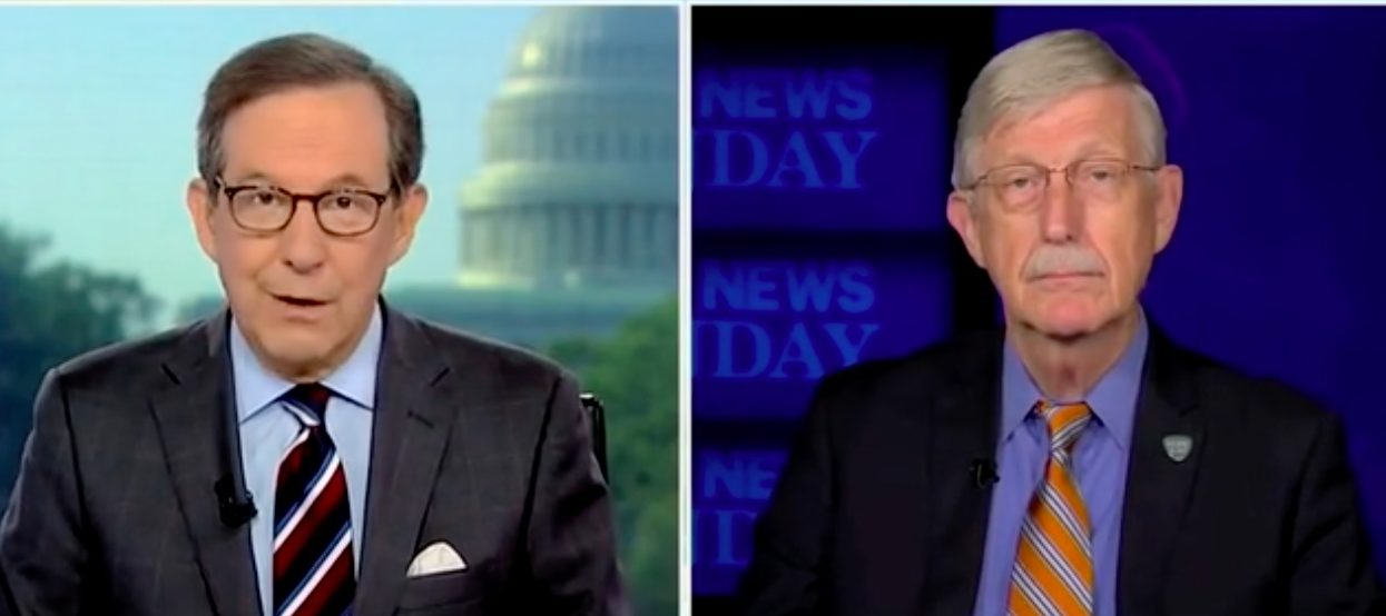 'Isn't That The Exact Opposite Of Follow The Science?': Chris Wallace Presses NIH Director On Biden's Rush To Secure COVID-19 Boosters