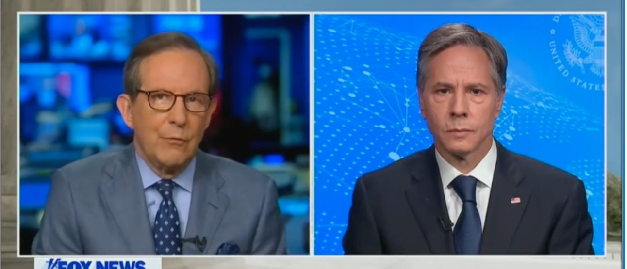 'Does The President Not Know What's Going On?': Blinken Directly Contradicts Biden When Pressed By Chris Wallace