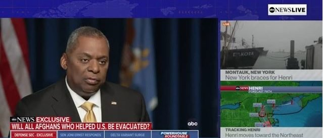 'We're Going To Try Our Very Best': Lloyd Austin Won't Commit To Evacuating Every American And Ally From Afghanistan
