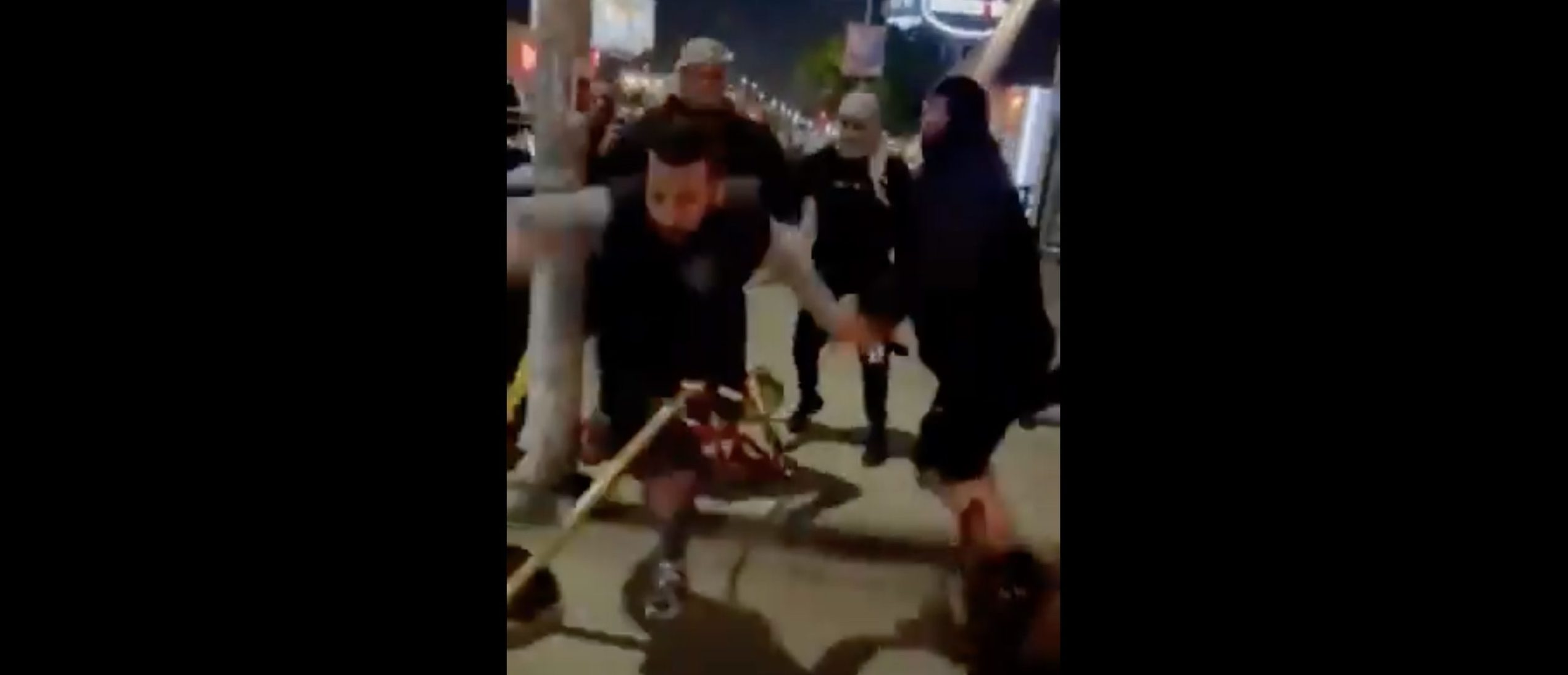 Pro-Palestinian Group Attacks Jewish People Outside Of LA Restaurant, Video Appears To Show. Police To Investigate