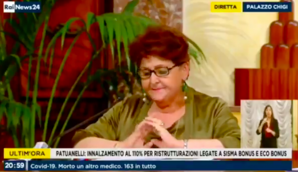 La ministra de Agricultura italiana Teresa Bellanova anuncia la regularización masiva de migrantes indocumentados