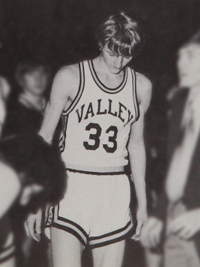 Image result for picture of larry bird in high school springs valley
