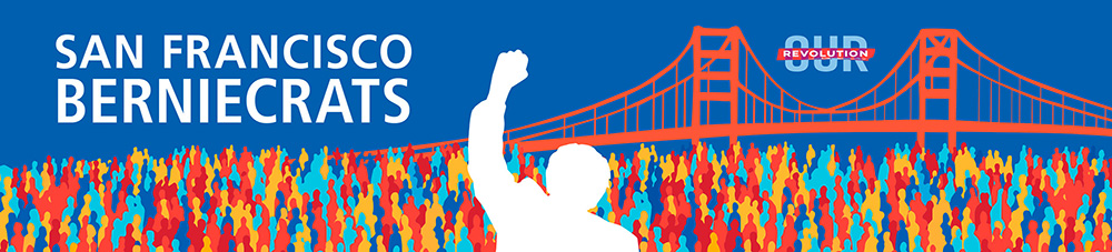 SF Berniecrats monthly meeting @ Online via Zoom