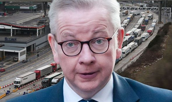 Brexit bombshell: Lorry drivers will need permit to enter Kent under Gove's exit plans