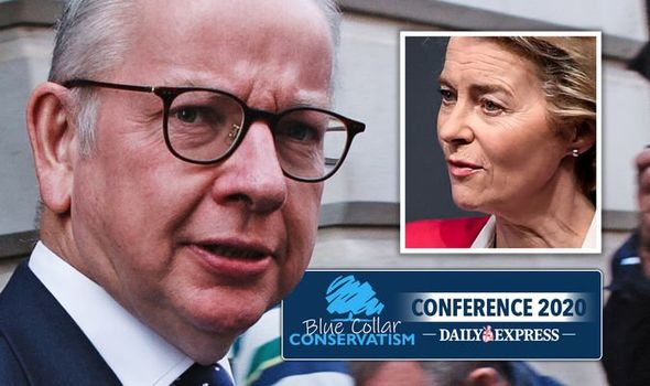 'Britain is READY to walk away!' Gove in furious threat as EU's Brexit games EXPOSED