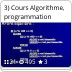 3) Cours Algorithm...