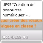 "ue95 ""Création de ..."