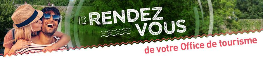 Les RDV de votre office de tourisme : fêtes et manifestations entre Angers, Nantes et Cholet