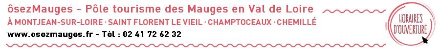 Coordonnées du Pôle Tourisme des Mauges en Val de Loire