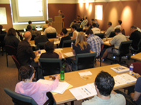 Picture of people attending the planning primer course