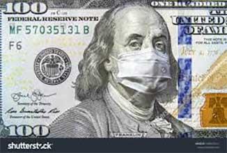 corona virus dollar