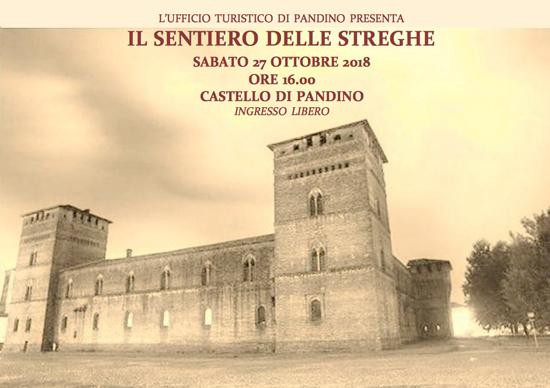 Il sentiero delle streghe al Castello di Pandino