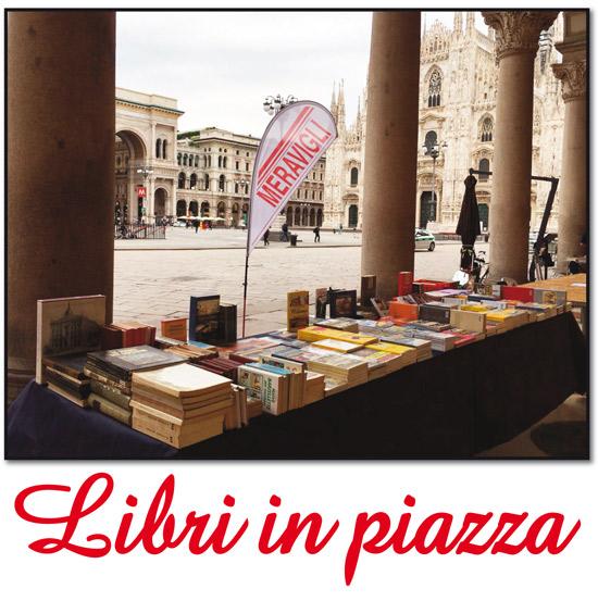 Libri in piazza Duomo