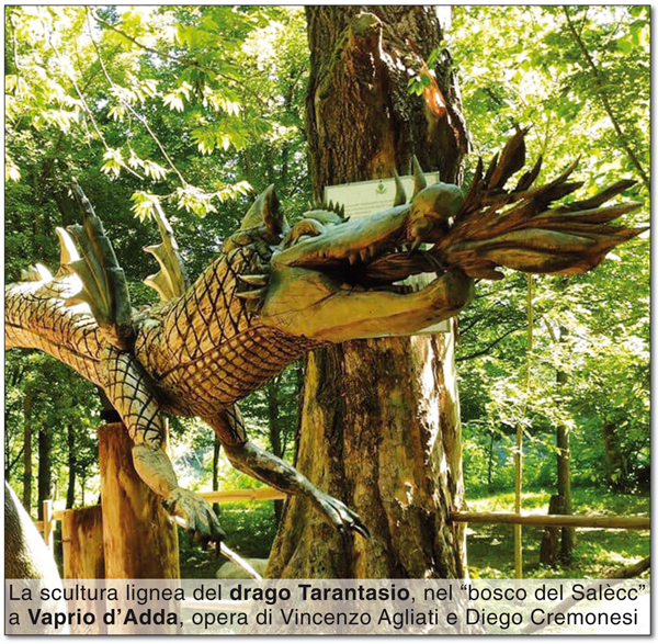 Il drago Tarantasio di Vaprio d'Adda
