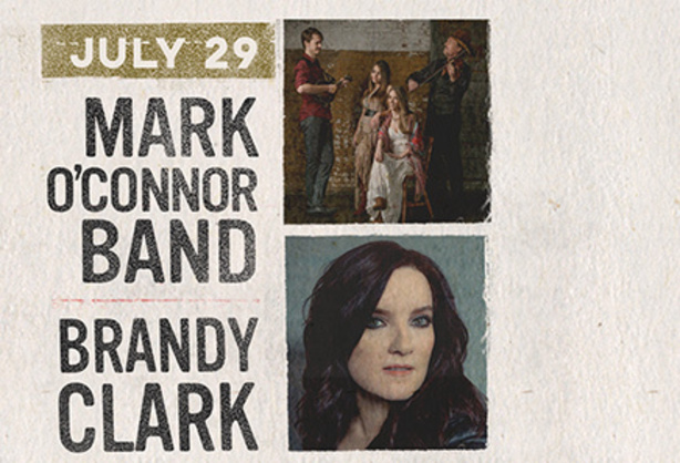 July 29 - Mark O'Connor Band & Brandy Clark