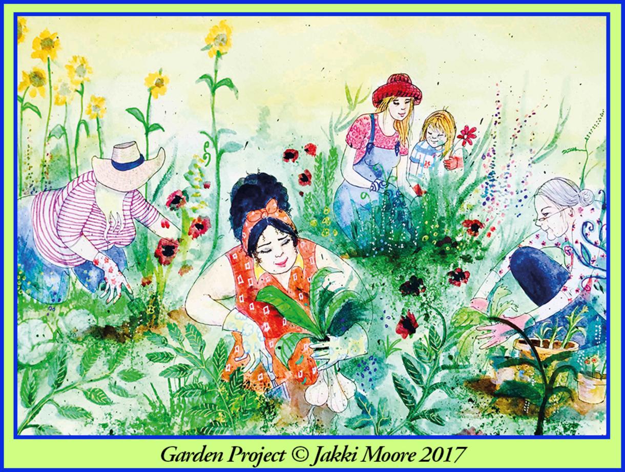 Garden Project © Jakki Moore 2017