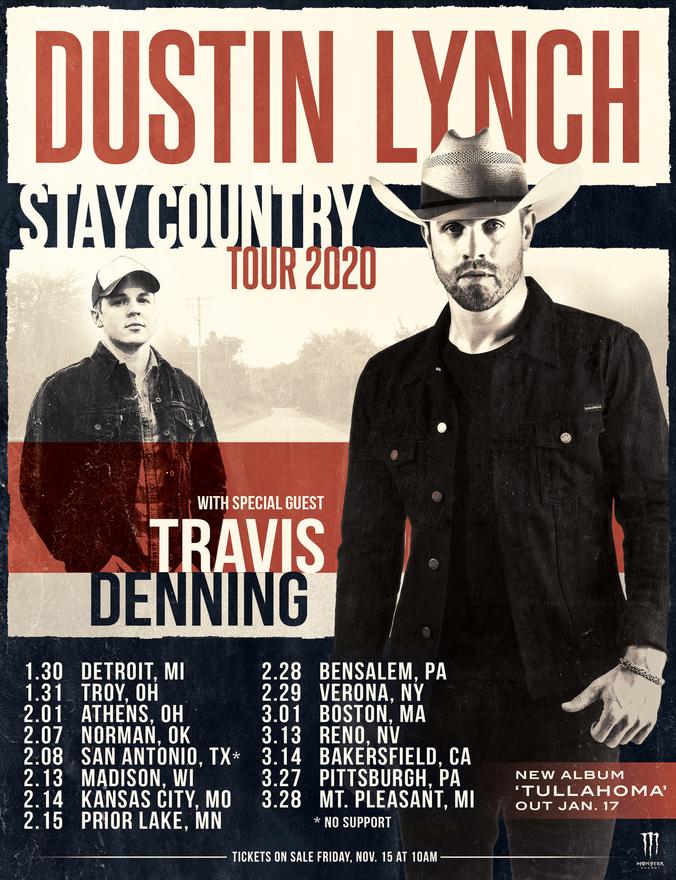 Dustin Lynch New Album 1/17