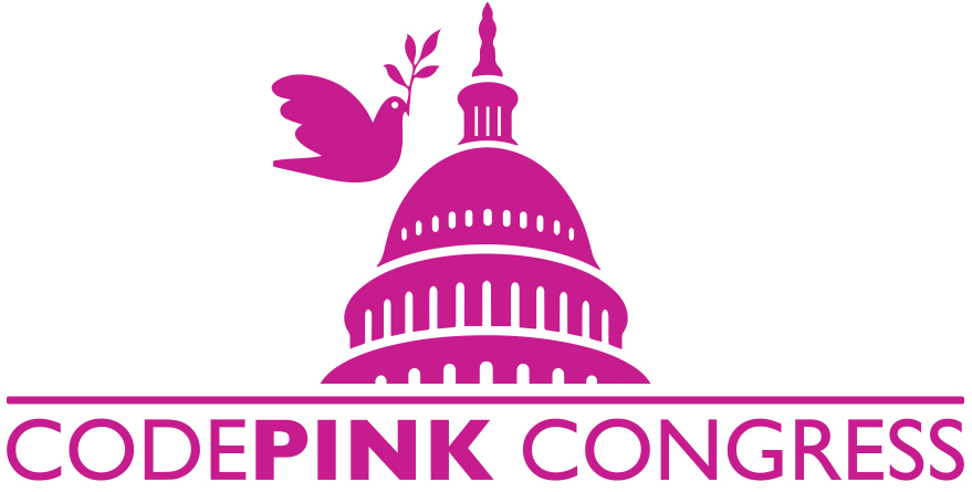 CodePink Capitol Calling Party on cutting the defense budget @ Online