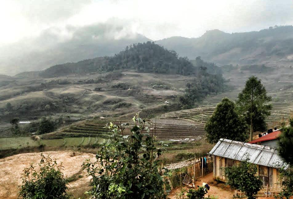 Núi rừng Yên Bái. Nguồn: panoramio.com