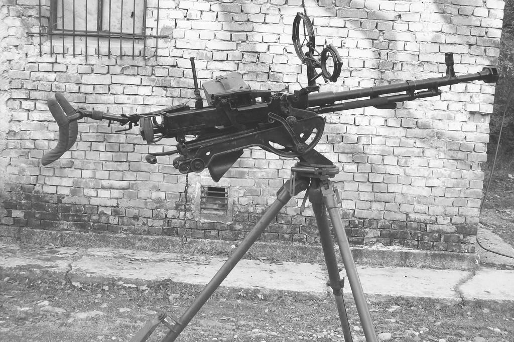 Äại liên DShK (12ly8), vÅ© khí của Soviet, là há»a lá»±c cấp trung Äoàn và tiá»u Äoàn bá» binh Äá»c lập của quân chính quy Bắc Viá»t. Nguá»n: Wikipedia.