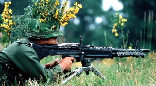 Súng M60 (1972). Nguá»n:  olive-drab.com