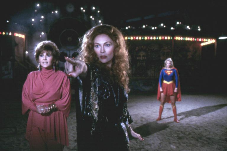 Image result for faye dunaway helen slater supergirl 1984