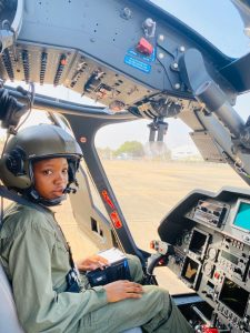 Airforce Narrates How Excited Colleague Hit Tolu Arotile