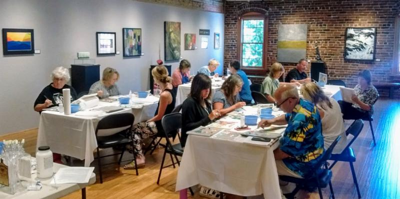 Paint like Diego Rivera with Kristen O'Neill and more art classes at Grants Pass Museum of Art