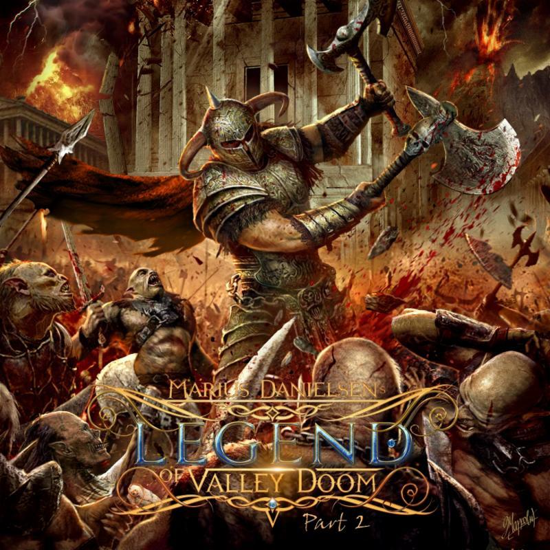 MARIUS DANIELSEN With All Star Power Metal Cast Releasing Legend Of Valley Doom Part 2 November 30