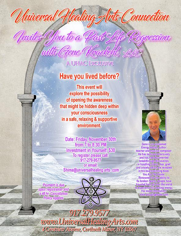 Past Life Regression on November 30, 2018