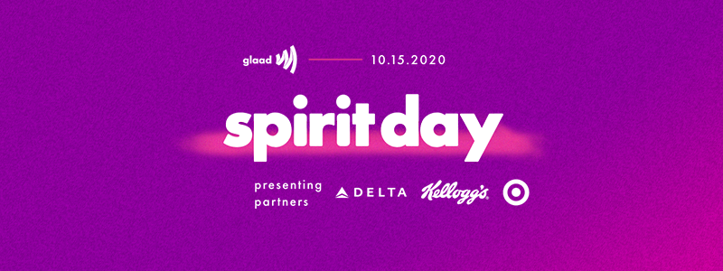 Spirit Day is October 15, 2020