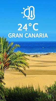 Gran Canaria: 24°C