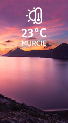 Murcie: 23°C
