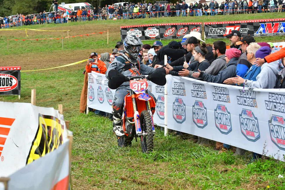 Grant Baylor rounded out the XC1 Open Pro class podium at Powerline Park, and is looking to earn another podium finish this Sunday.