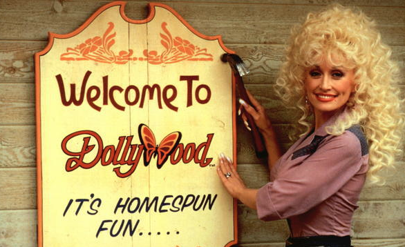 Image result for dolly parton opens dollywood