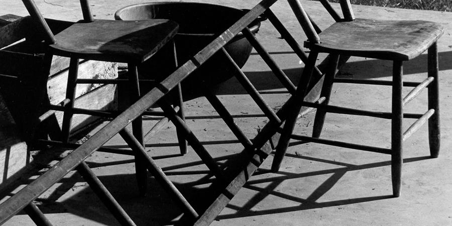 Image credit: Ladder and Chair (detail), Photograph by Thomas Merton, copyright the Merton Legacy Trust and the Thomas Merton Center at Bellarmine University. Used with Permission.