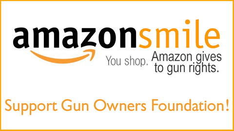 Use Amazon Smile to support GOF