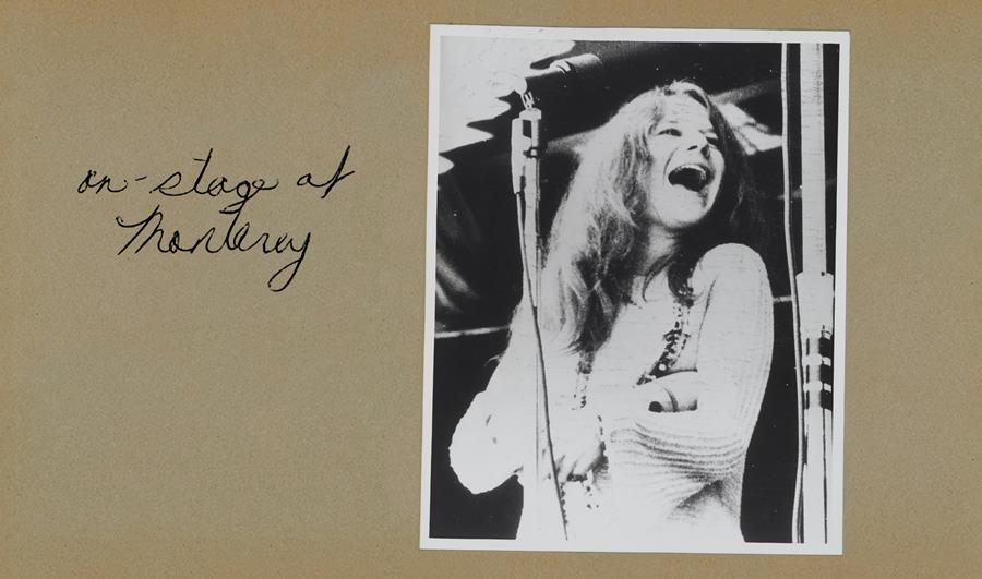 Janis Joplin Scrapbook, 1966-68