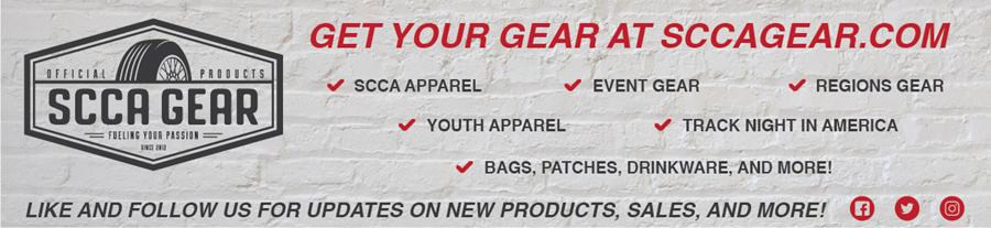SCCA Gear