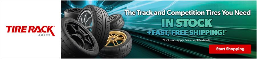 Tire Rack: Official Partner of the SCCA