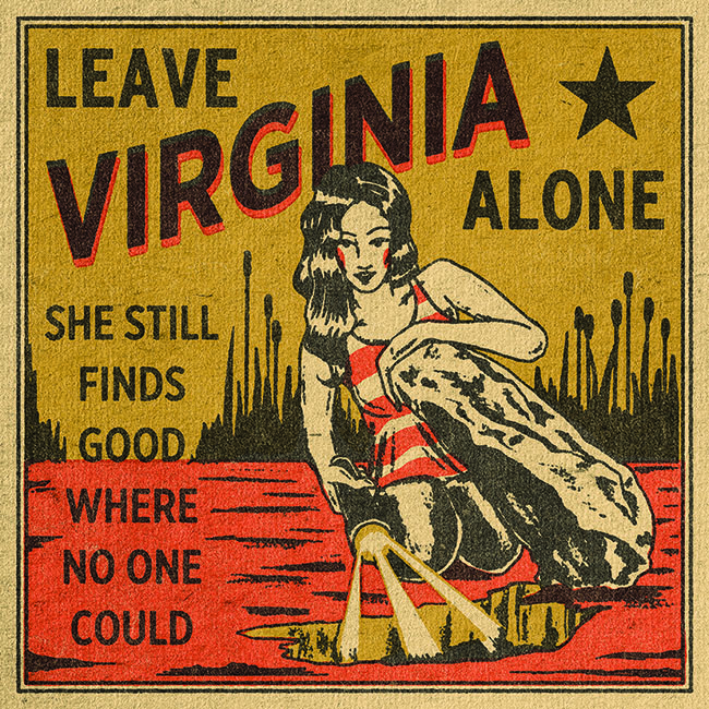 Tom Petty - Leave Virginia Alone Artwork