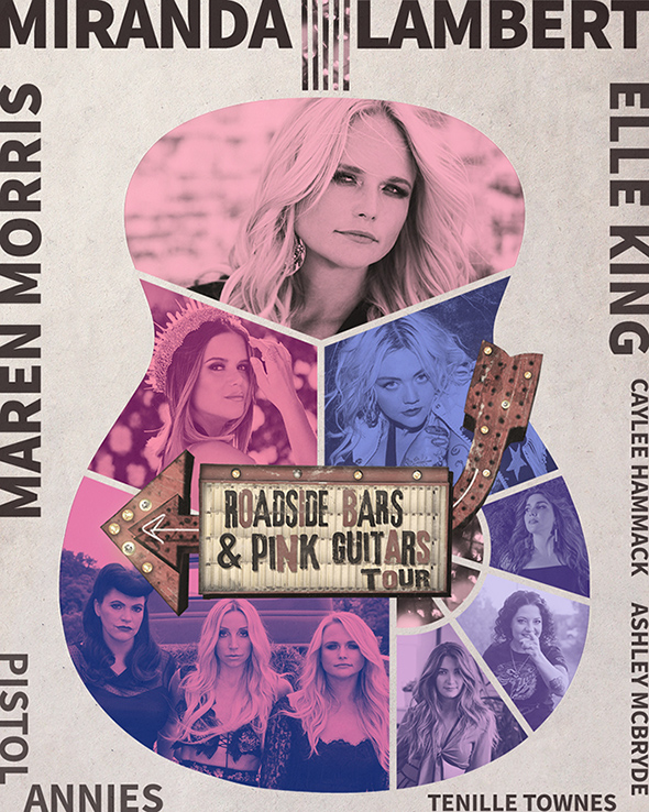 Ashley Monroe - Tour Admat