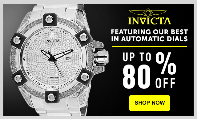 Monday Movement: Featuring our best in Automatic dials - up to 80% off!