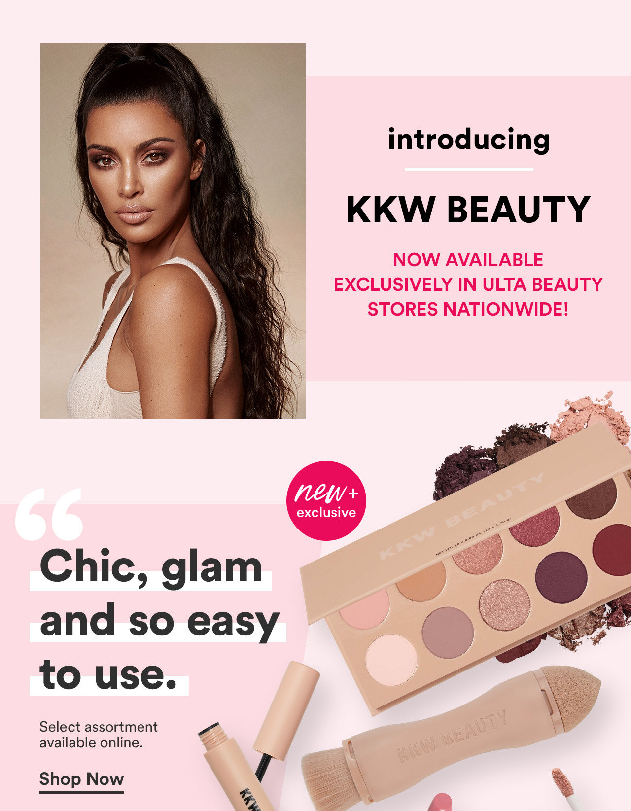 Now Available Exclusively in Ulta Beauty Stores Nationwide!