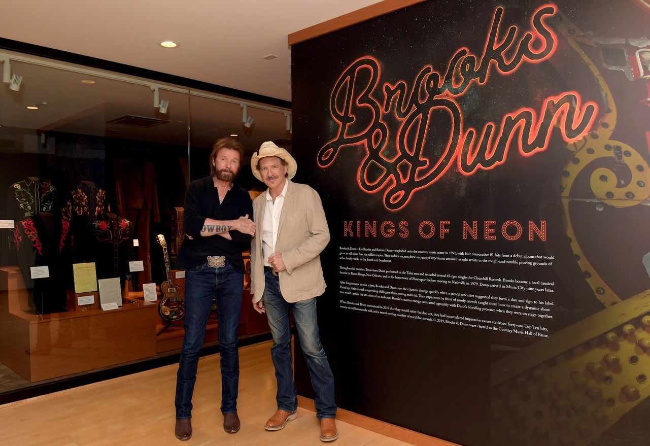 Brooks & Dunn HOF Exhibit